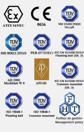 Logos homologaciones